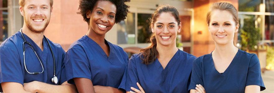 Suivre une formation pour devenir infirmier